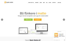 Basic Matte nettside