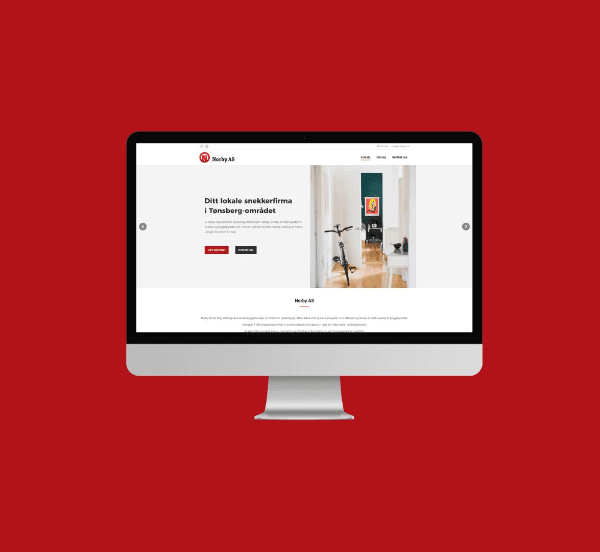 Hjemmeside håndtverker